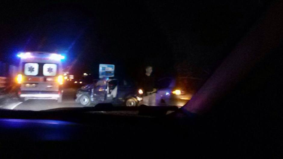 Belpasso, incidente stradale sulla S.S. 121