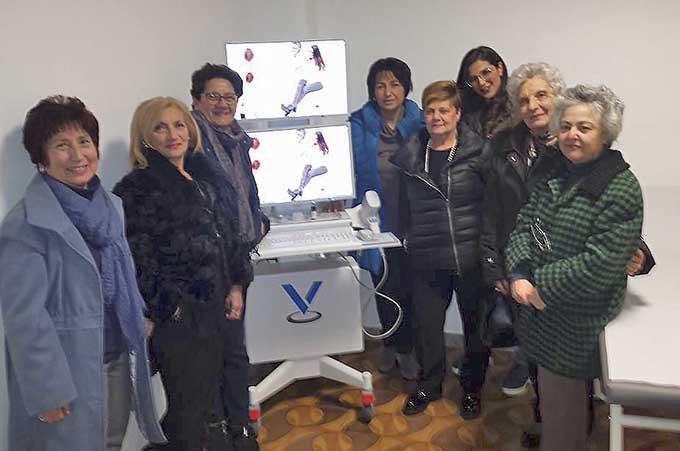 Adrano, un videodermatoscopio per l'Associazione Prevenzione Cancro