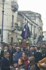 Biancavilla, Venerdì Santo: la processione della Madonna Addolorata