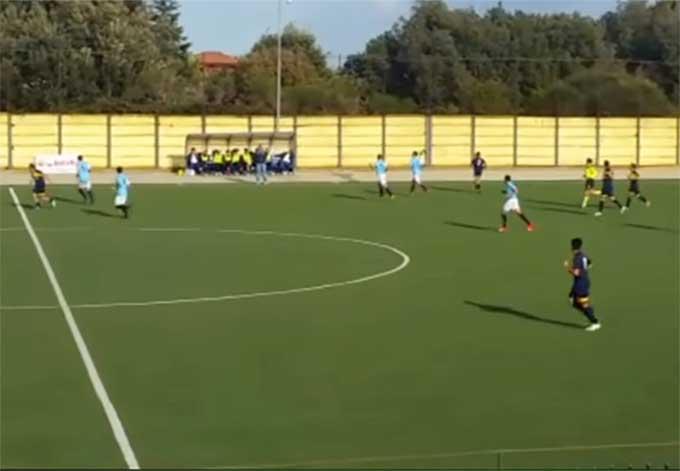 Calcio, in Prima Categoria il portiere del Real Adrano firma il 2 a 1