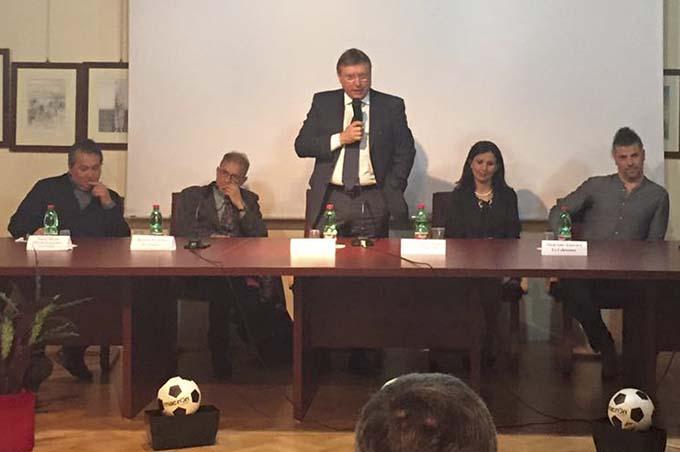 Biancavilla, Lo Monaco al convegno sui giovani calciatori: «Riformare i campionati e valorizzare i giovani»
