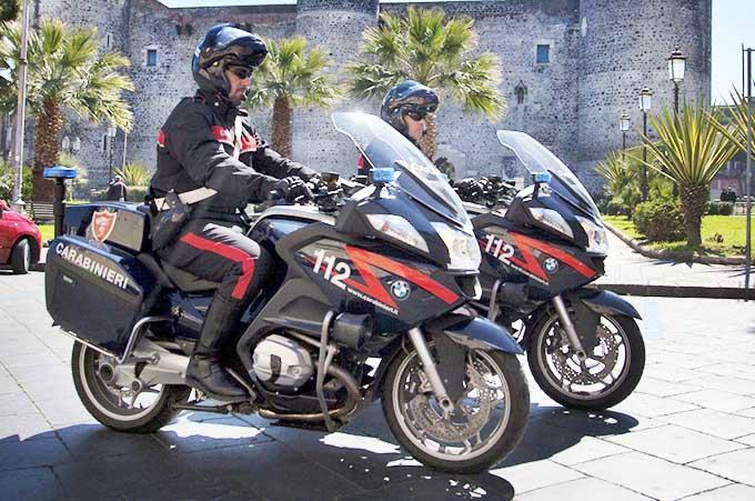 Sicurezza stradale, servizio straordinario di controllo del territorio dei carabinieri