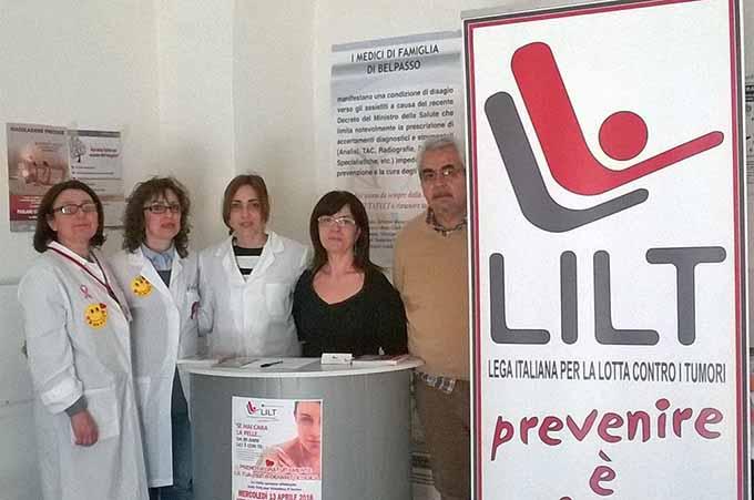 Belpasso, visite di prevenzione Lilt contro il melanoma