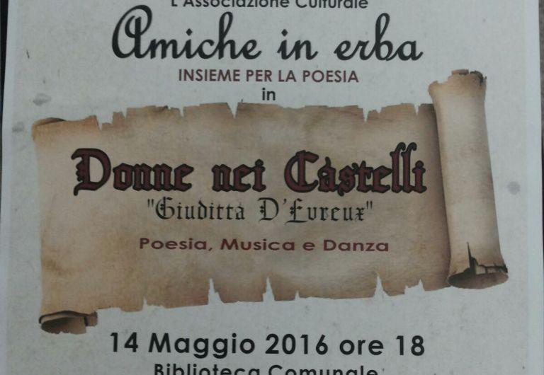 """Adrano, di scena la poesia medievale con """"Donne nei Castelli"""""""