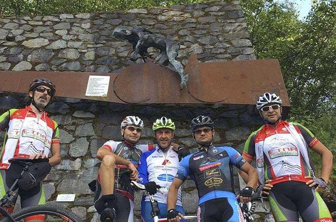 Da Adrano, Biancavilla e Paternò, in Valtellina sulla scia di Pantani