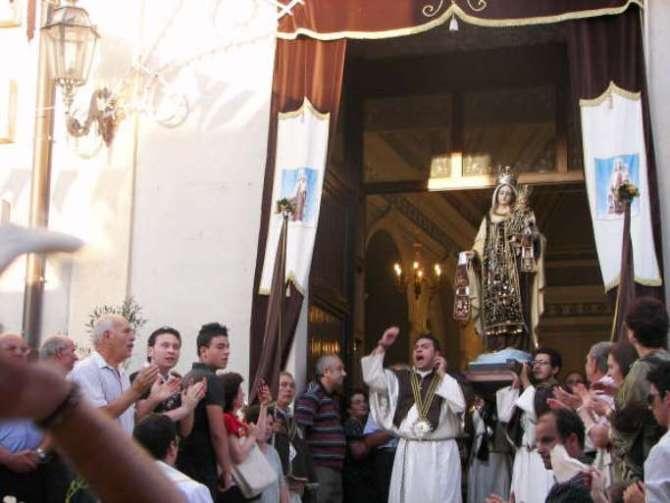 Simulacro Madonna del Carmelo - Foto Riccardo Spoto