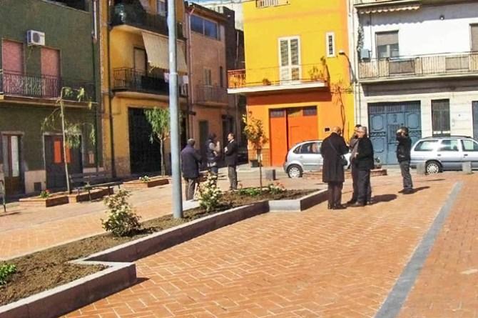 Adrano, piazza del Popolo dopo i lavori di riqualifcazione