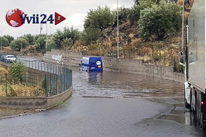 Nubifragio sul catanese: ingenti danni a Biancavilla ed Adrano