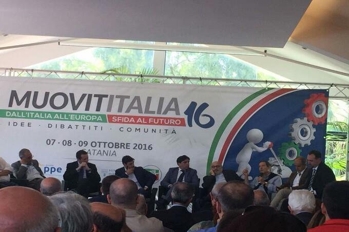 """Catania: conclusa ieri la tre giorni del centro destra """"Muovititalia2016"""""""