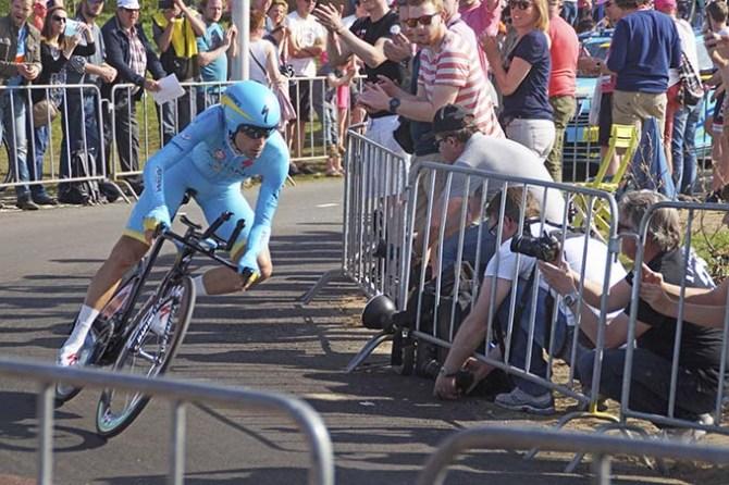 Vincenzo Nibali al Giro d'Italia del 2016 - Foto Joop van Dijk