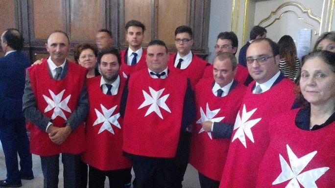 """Catania, cerimonia di investitura dei """"Cavalieri Ospitalieri"""" di Santa Maria di Licodia"""
