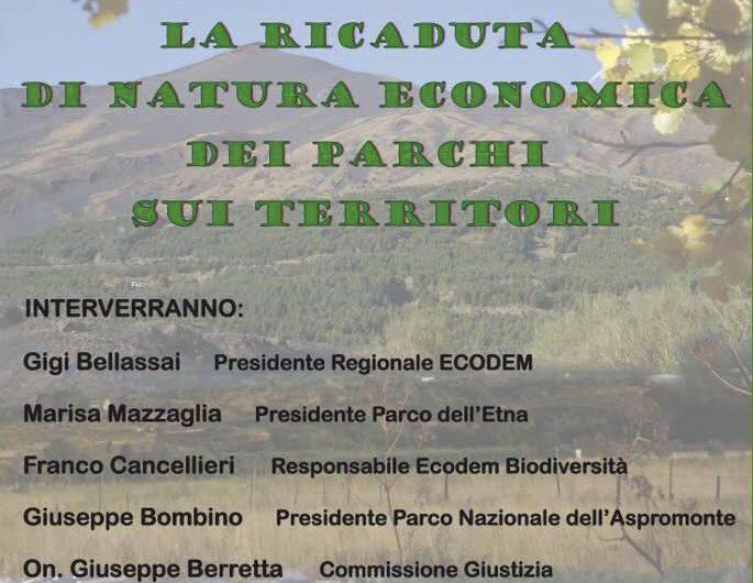 Nicolosi, domani al Parco dell'Etna convegno sull'economia creata dai parchi