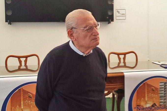 Paternò. L'on. Nino Lombardo (90 anni) candidato sindaco