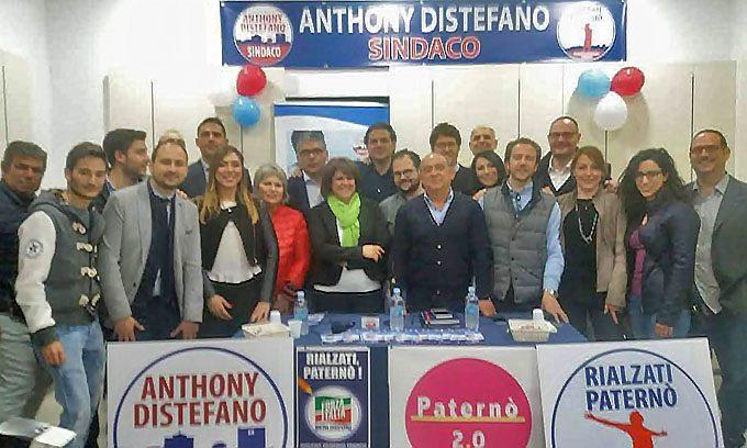 Elezioni Paternò. Forza Italia e Paternò 2.0 con Anthony Distefano