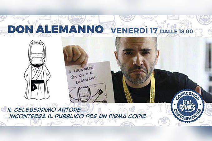 Catania, oggi al Borghetto Europa il firmacopie di Alessandro Mereu