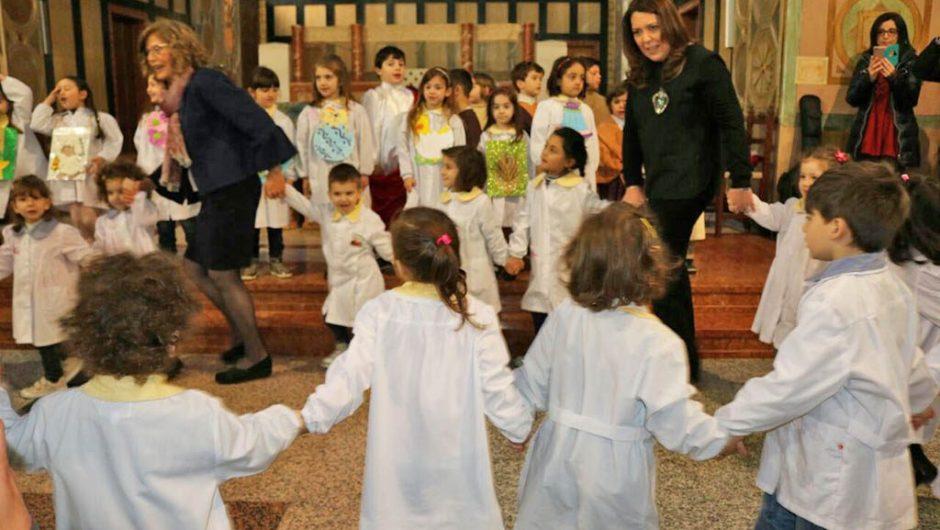 Paternò, Pasqua alla scuola dell'infanzia