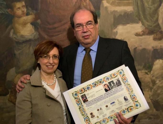 """Catania, premio """"Livatino"""" al licodiese Giuseppe Seminara"""