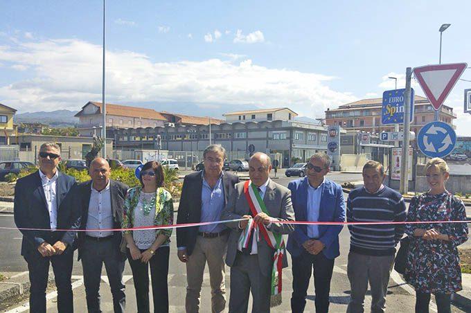 Biancavilla, inaugurato il Viale Dei Fiori a tre mesi dal completamento