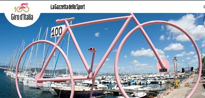 "Giro d'Italia, a Biancavilla un ""Traguardo Volante"""