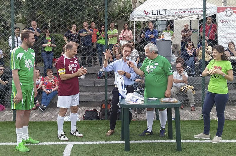 """Catania, sabato la quarta edizione di """"Dai un calcio al linfoma"""", la sfida Lilt fra medici e pazienti"""