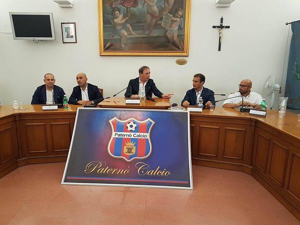 Paternò, presentato il nuovo Paternò Calcio