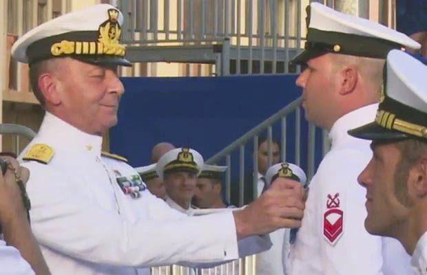 Roma, un licodiese insignito della medaglia d'oro al merito di Marina
