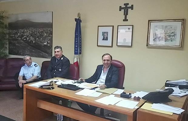 Paternò, incontro amministrazione Vigili urbani