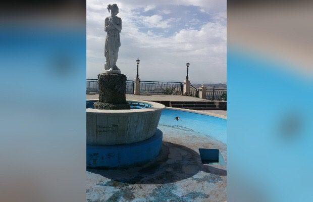 Santa Maria di Licodia, rubati alcuni faretti alla villa Belvedere