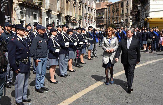 Catania. Bilancio Polizia: aumentano gli arresti, in calo i reati
