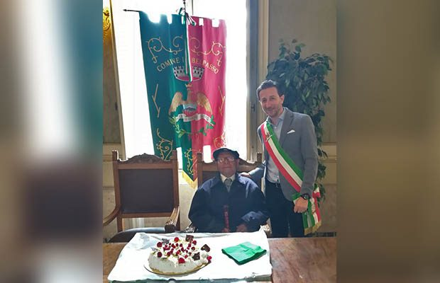 Belpasso. Festa al comune per i 100 anni di Antonino Lauria