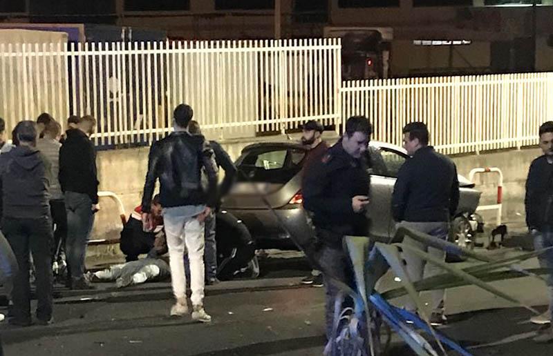 Adrano: grave incidente autonomo in via Casale dei greci