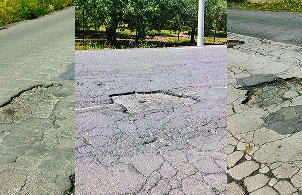 Paternò, strade provinciali in condizioni disastrose