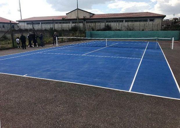 Santa Maria di Licodia, nuovamente fruibili i campetti da tennis