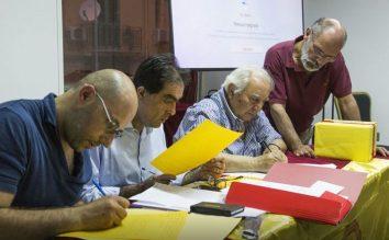 Il rinnovo degli organismi di SiciliAntica: terzo da sinistra è l'avvocato Pippo Virgillito, riconfermato consigliere
