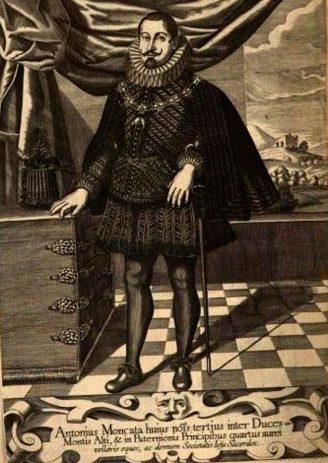 Don Antonio Moncada, principe di Paternò