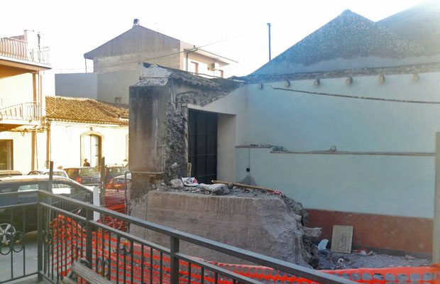Belpasso. Al via lavori di ristrutturazione di un edificio comunale a Borrello