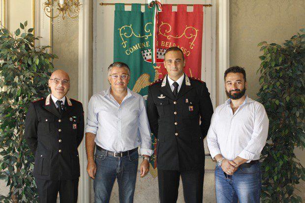 Belpasso. Il sindaco incontra il capitano dei Carabinieri Angelo Accardo