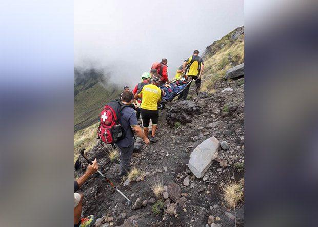 Etna, cittadino paternese soccorso dalla Guardia di Finanza