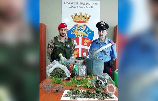 Biancavilla. Arrestato 30enne per droga