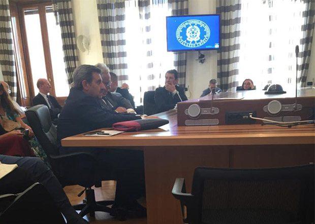 Adrano. Il sindaco Angelo D'Agate a Palazzo Chigi per parlare di Aree Interne