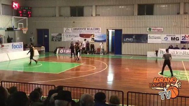 Basket. L'Adrano convince, ma cede ad Alcamo 92-74