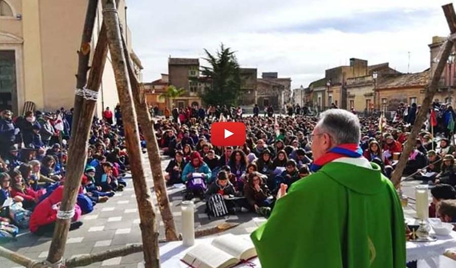 Santa Maria di Licodia. Grande partecipazione per il raduno scout di domenica
