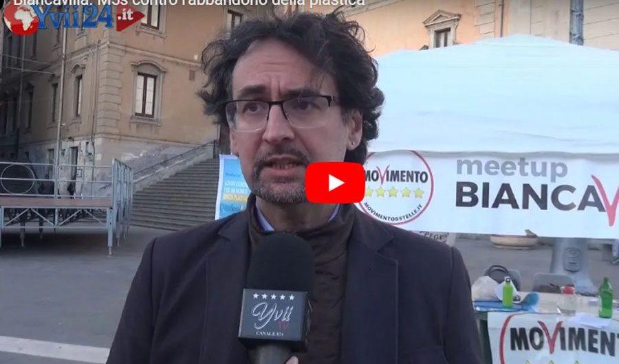 """Biancavilla. """"Plastic free"""" campagna del Movimento 5 Stelle"""