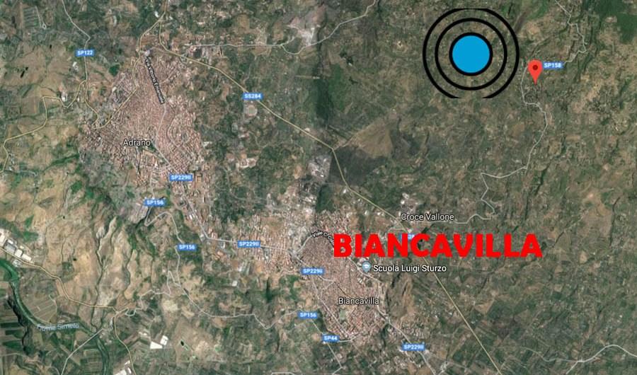 Biancavilla-Ragalna: piccolo sciame sismico dall'alba