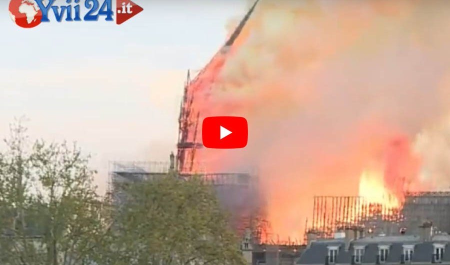 Biancavilla in preghiera per Notre Dame