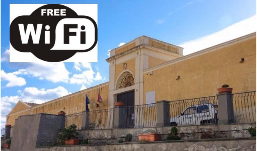 Biancavilla. Wi-fi gratuito a villa delle Favare