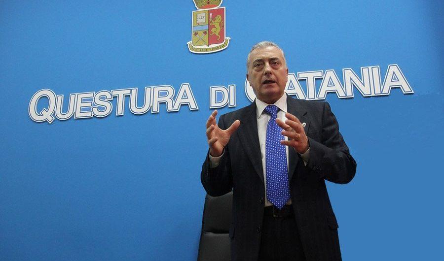 Catania. Il questore Francini lascia Catania
