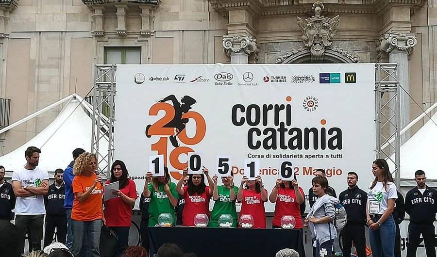 """Catania, """"corre sotto la pioggia"""""""