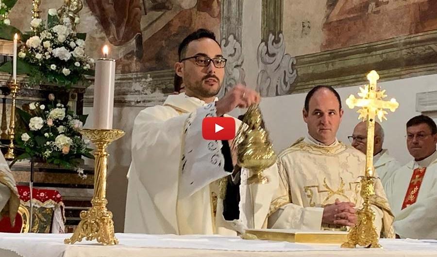 Biancavilla. Prima celebrazione eucaristica di Don Giosuè Messina