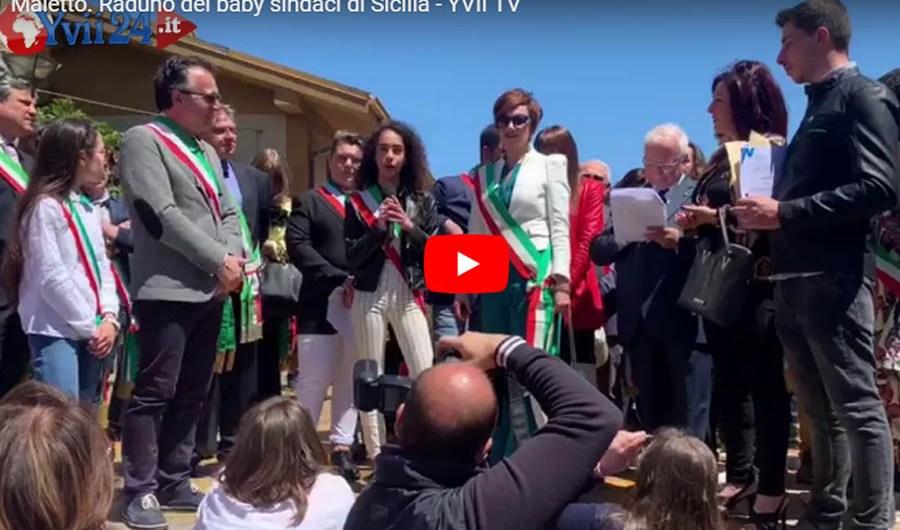 Maletto, raduno dei sindaci siciliani dei ragazzi